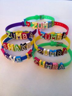 These would be super cute for Zumbatomic!!