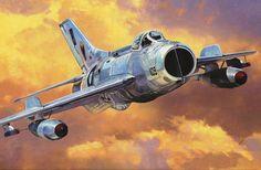 MiG-19 [Shenyang F-6] Farmer Pakistan Air Force (MasterCraft box art)