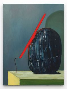 Blue Pink Black, Carl Freedman Gallery _Ivan Seal smelldong occodint 2011, oil on canvas, 60 x 45 cm