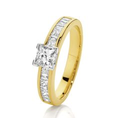 Canadian Fire 18ct Yellow Gold Diamond Ring