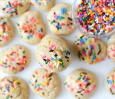 Protein Treats By Nicolette : Vanilla Cake Batter Protein Cookies