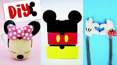 DIY DISNEY: 3 Ideias Inspiradas em Mickey e Minnie! Por Isabelle Verona