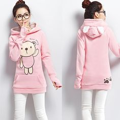 "Cute cartoon students hooded fleece pullover Cute Kawaii Harajuku Fashion Clothing & Accessories Website. Sponsorship Review & Affiliate Program opening!so fashionable and sweet, use this Coupon code ""cutekawaii"" for 10% off"