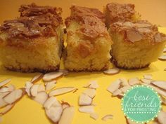 Do you find yourself picking the almond filling out of your Bear Claw?  If so, this recipe is definitely for you and anyone else who loves almond flavored desserts. Petite Almond Paste Bars!