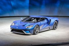 Ford GT in Detroit is Very Real, With 600-Plus HP - Motor Trend  -  Supercar goes on sale late next year