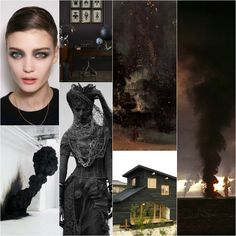 Soot - deep black. Soot was a pigment that was used to obtain black color already in antiquity. While writing this post, I came across an interesting article concerning tattooing the Eskimos with soot, I've included the link here .