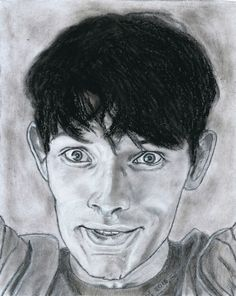 Colin Morgan by Vanessafari - #ColinMorgan by #Vanessafari. More portraits at vanessafari.com