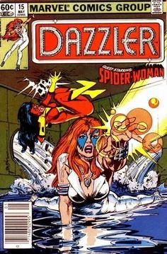 Dazzler. No 15. May. Marvel Comics.