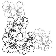 Quilting Stencils, Quilting Templates, Longarm Quilting, Free Motion Quilting, Machine Quilting, Quilting Designs, Cutwork Embroidery, Embroidery Fashion, Hand Embroidery Patterns