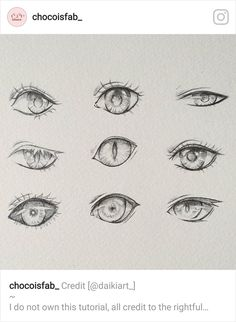 Realistic Drawing Tips Doodle of some semi-realistic eyes Eye Drawing Tutorials, Drawing Techniques, Drawing Tips, Art Tutorials, Drawing Sketches, Cool Drawings, Drawing Ideas, Manga Eyes, Anime Eyes