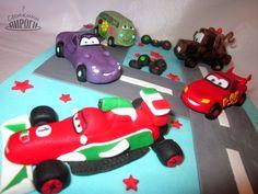Cake Тачки / Cars https://vk.com/svetkintort