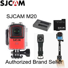 Newtest SJCAM M20 Wifi Gyro Sport Action Camera HD 2160P 16MP 4K Waterproof DV Bluetooth watch self timer lever remote control //Price: $147.15      #sale