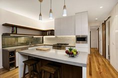Beautiful Modern Kitchen. 31A Noble Street Barwon Heads - New Home Builder Geelong and Surfcoast - Living Edge Properties