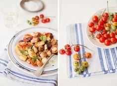 Salad for those empty fridge days | la casa sin tiempo