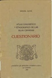 Se cumplen cincuenta años de la publicación del Cuestionario del Atlas lingüístico y etnográfico de las Islas Canarias. El viaje de Juba. 13/02/2014 #Blogs #Bbtk