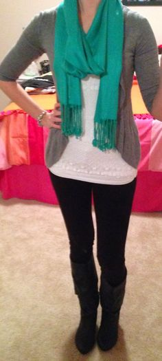 Trendy Tales of a Teacher: Peek into my Closet- How to Wear Your Summer Clothes in the Winter