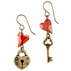 You Hold the Key Earrings | Fusion Beads Inspiration Gallery