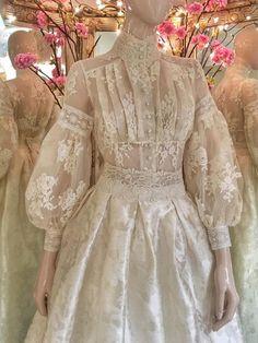 Edwardian Fashion, Vintage Fashion, Edwardian Style, Edwardian Dress, Pretty Dresses, Beautiful Dresses, Vintage Dresses, Vintage Outfits, Bridal Dresses
