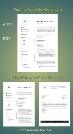 Cv Design Template, Modern Resume Template, Invoice Template, Templates, Quotation Template Word, Cover Letter Template, Resume Design, Lettering, Words