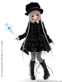 Azone-PN-Doll-Miu-Little-Witch-of-the-Water-ver1-1-Free-Shipping