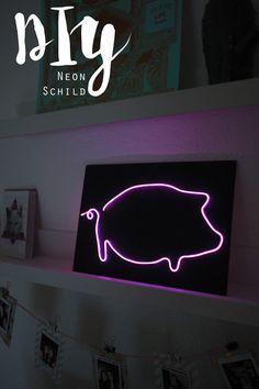 KuneCoco • DIY • Neonschild selber machen