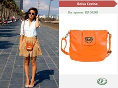 Para trabalhar nos dias quentes, prefira roupas claras e confortáveis! A bolsa Bagaggio Cecina fica perfeita com esse look não acham?  #bagbolsas #Bolsas #Bagaggio #Bagfashionistas