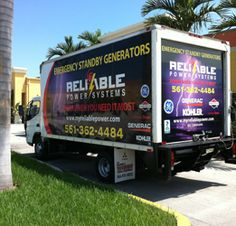 Call Reliable Power Systems For Generator Service in Miami.