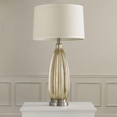 """Found it at Wayfair - Alvira 33.5"""" H Table Lamp with Drum Shade"""