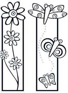 Bookmarks to cut and color (kids) Colouring Pages, Adult Coloring Pages, Coloring Sheets, Coloring Books, Paper Art, Paper Crafts, Diy Crafts, Crafts For Kids, Arts And Crafts