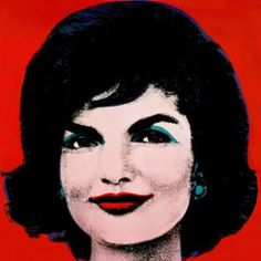 Famous Jackie Kennedy Quotes | Red Jackie, 1964 by Andy Warhol