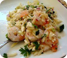Here to Make You Hungry: Shrimp Orzo Salad