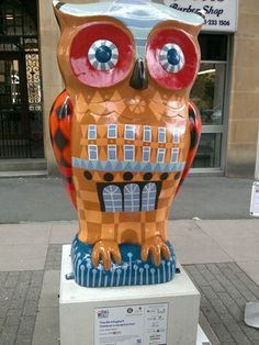 Children's Hospital Owl raised 4,000 pounds at the auction