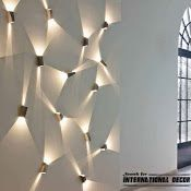 Contemporary wall lights, lighting ideas and lamps