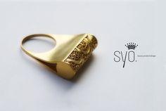 fado ring by A Designer – Sylvie Castro SYO