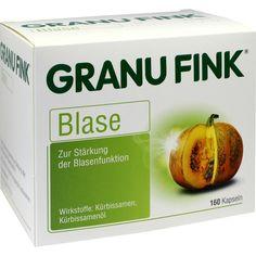 GRANUFINK Blase Hartkapseln:   Packungsinhalt: 160 St Kapseln PZN: 00301233 Hersteller: Omega Pharma Deutschland GmbH Preis: 25,28 EUR…
