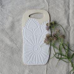 Ceramic Cheese Board Handmade Serving Board by TagliaferroCeramics
