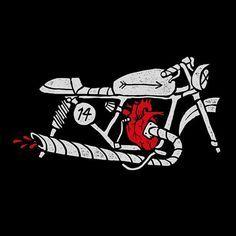 Pedro Oyarbide #illustration #design #motorcycles #motos | caferacerpasion.com