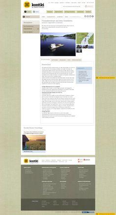 Kontiki, summer tour detail page