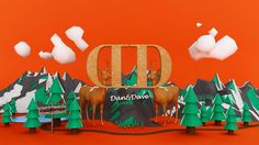 #3d #c4d #3dillustration #bucktwins #dananddave #3dart #design #california #graphicdesign #thedesigntip #illustration #vray by argo.by.pint5on