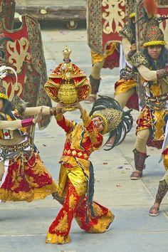 The Sinulog Festival in Cebu City, Philippines