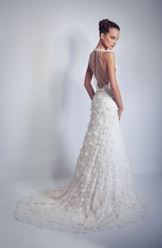 Just wow - discovered Marina K couture wedding gowns