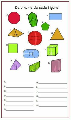 Plano de aula sobre Sólidos Geométricos e Perímetro - 4° Ano Seventh Grade Math, Multiplication Worksheets, 4th Grade Classroom, Kindergarten Math, Case Study, Mathematics, Professor, Montessori, Middle School