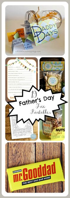 Check out these amazing father's day printables. These are easy, but meaningful gifts that will help the father in your life know you care!