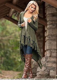 Love this sweater!  Great color...looks warm and comfy. Women's Sweaters - Comfortable Fabrics & Styles by VENUS