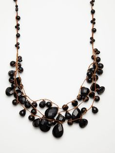 Chan Luu - Briolette Cluster Necklace (from GILT)
