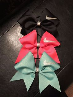 Nike Swoosh Cheer bow Many colors by CreativelyGlamorous on Etsy