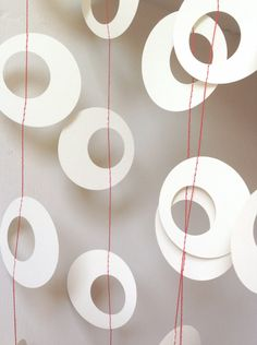 Hoopla - Paper Garland Party Decoration Photo Prop Wedding Garland Choose Your Length.