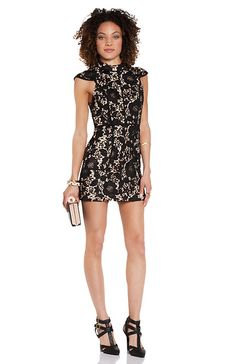 Cameo Brake Light Lace Dress
