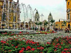 Fountain, Barranco, Lima Peru