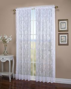 Francesca Embroidery Two Way Pocket Single Curtain Panel